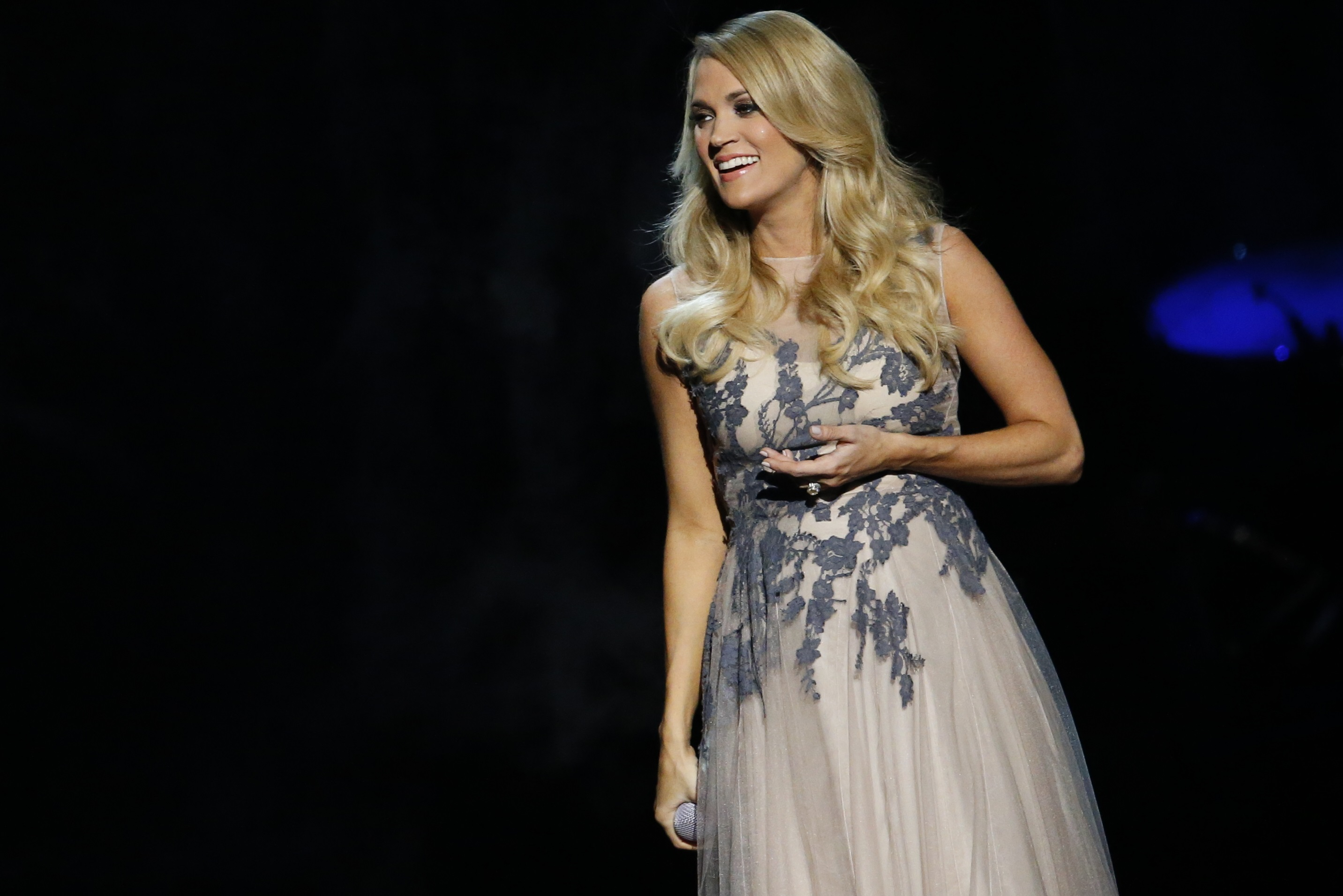 Carrie Underwood at the 48th Annual CMA Awards on November 5, 2014; Photo courtesy Country Music Association