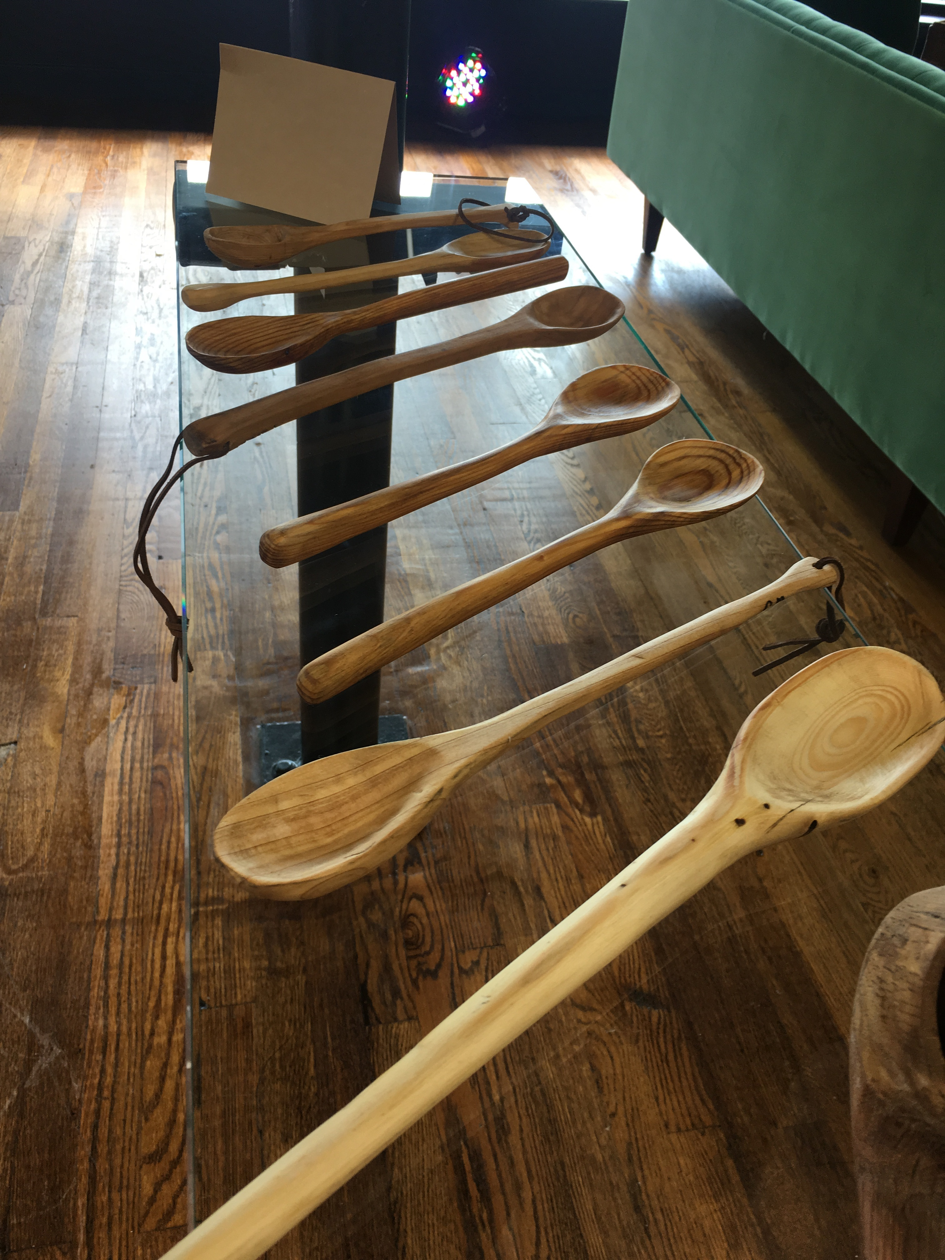 Handmade wooden spoons; Photo courtesy: Monarch Publicity