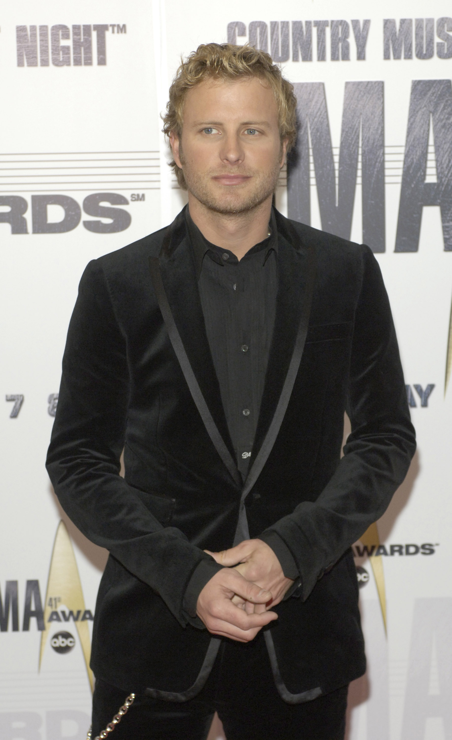 Dierks Bentley arrives at the 41st Annual CMA Awards at the Sommet Center on November 7, 2007 in Nashville TN; Photo by Frank Mullen/WireImage