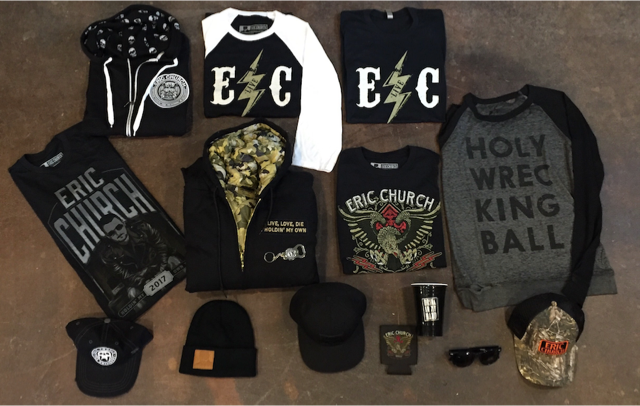 Win An Eric Church 61 Days In Church Prize Pack Sounds
