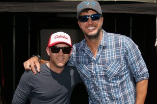 Justin Moore Thanks Luke Bryan for 'Hell on a Highway'