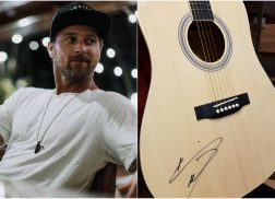 WIN a Guitar + 'SLOWHEART' CD Autographed by Kip Moore
