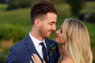 LANCO's Brandon Lancaster Says 'I Do' in Rustic Farm Wedding