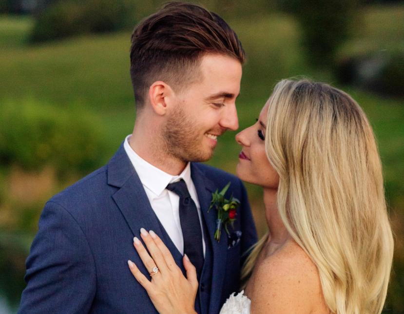 LANCO's Brandon Lancaster Says 'I Do' in Rustic Farm Wedding