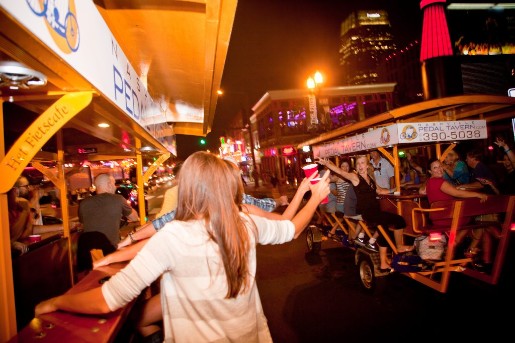 Photo from Nashville Pedal Tavern