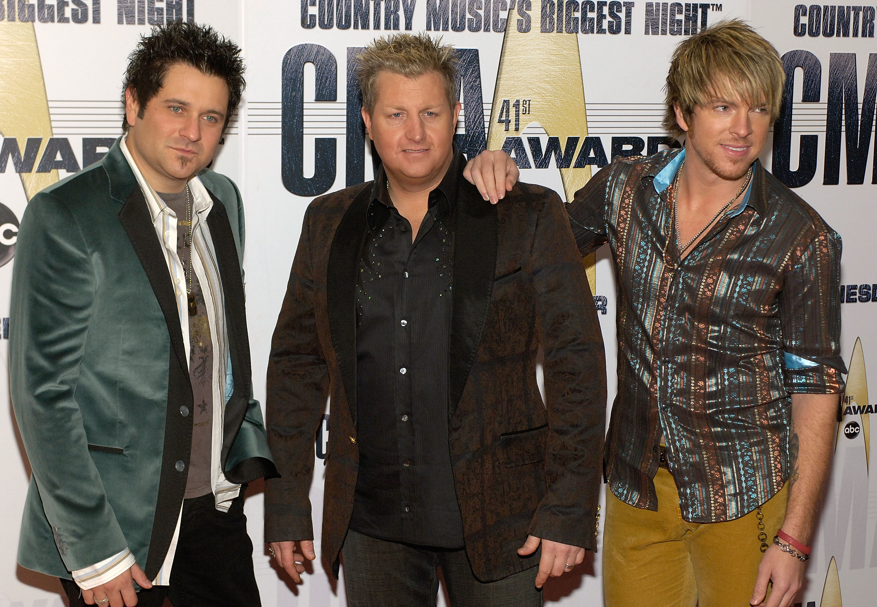 Rascal Flatts at the 41st Annual CMA Awards at the Sommet Center on November 7, 2007 in Nashville TN; Photo by Frank Mullen/WireImage