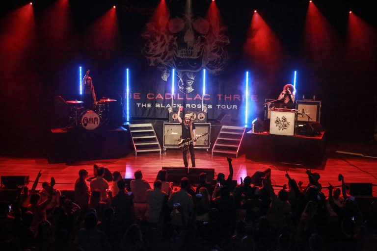 The Cadillac Three Rock Sold-Out Headlining Show at the Ryman