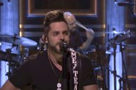 Thomas Rhett Shares Details From His Phone, Performs 'Unforgettable' on 'Tonight Show'