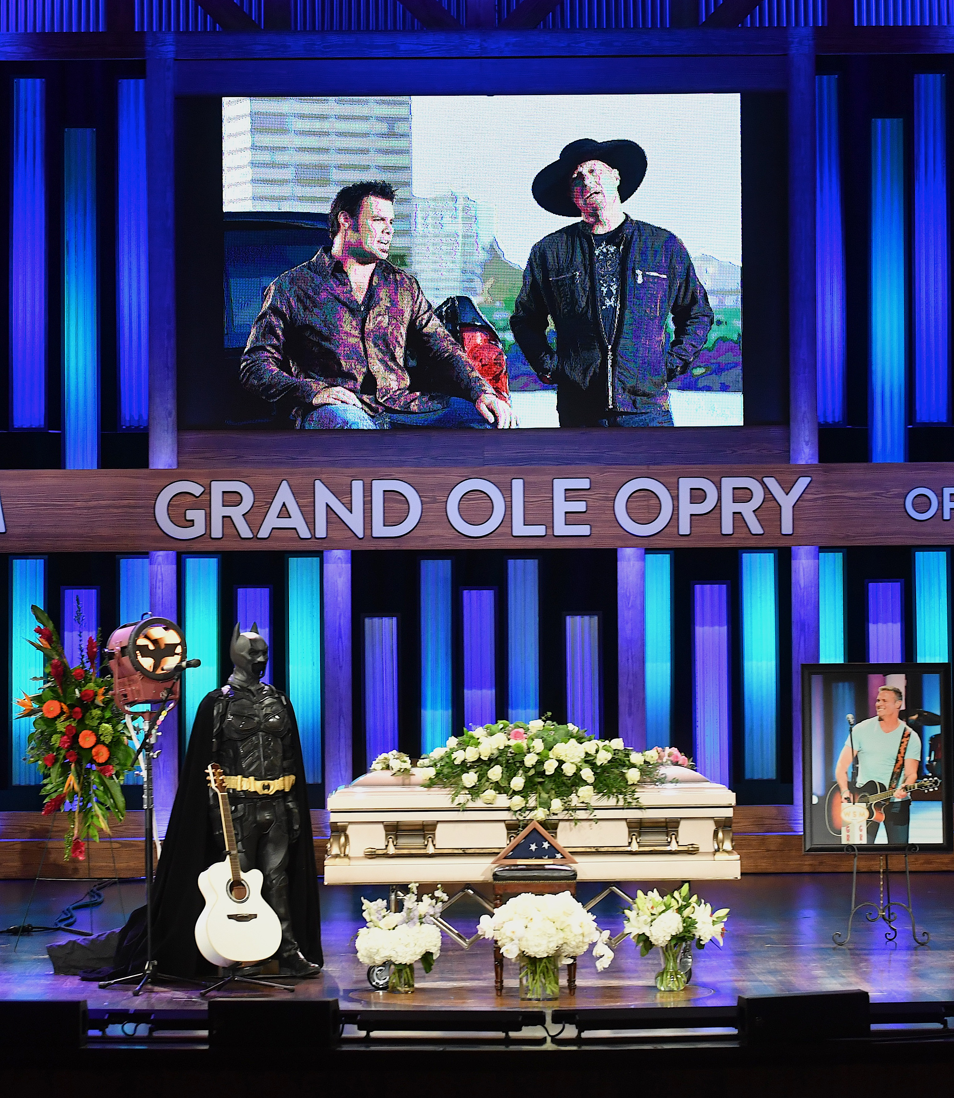 Celebration of Life For Troy Gentry at Grand Ole Opry House; Photo by Jason Davis/Getty Images