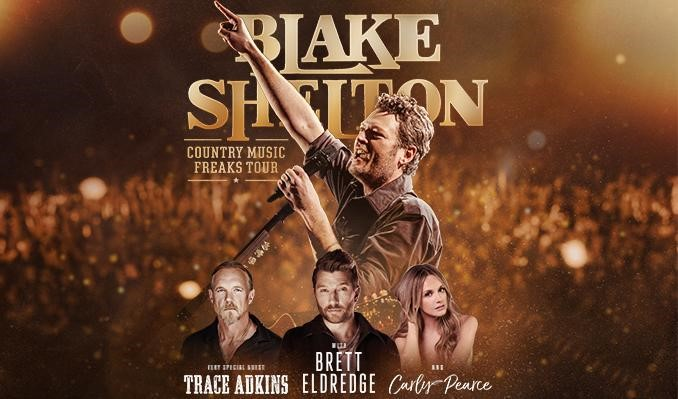 Blake Shelton Is Calling Upon All 'Country Music Freaks' For 2018 Tour