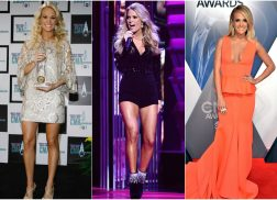 10 Years of Carrie Underwood's Most Iconic CMA Awards Looks