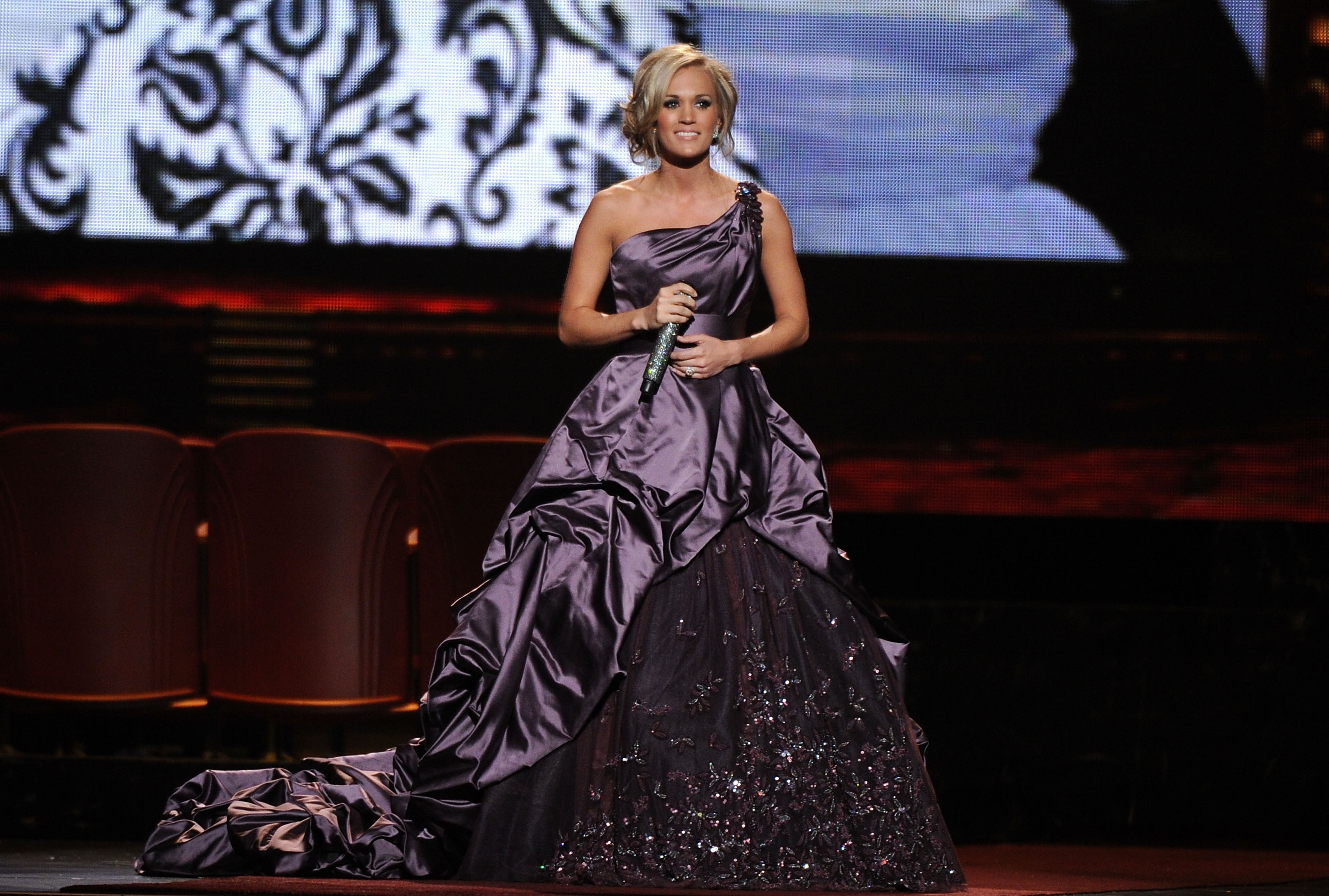 Carrie Underwood at the 44th Annual CMA Awards on November 10, 2010; Photo by Bryan Bedder/WireImage
