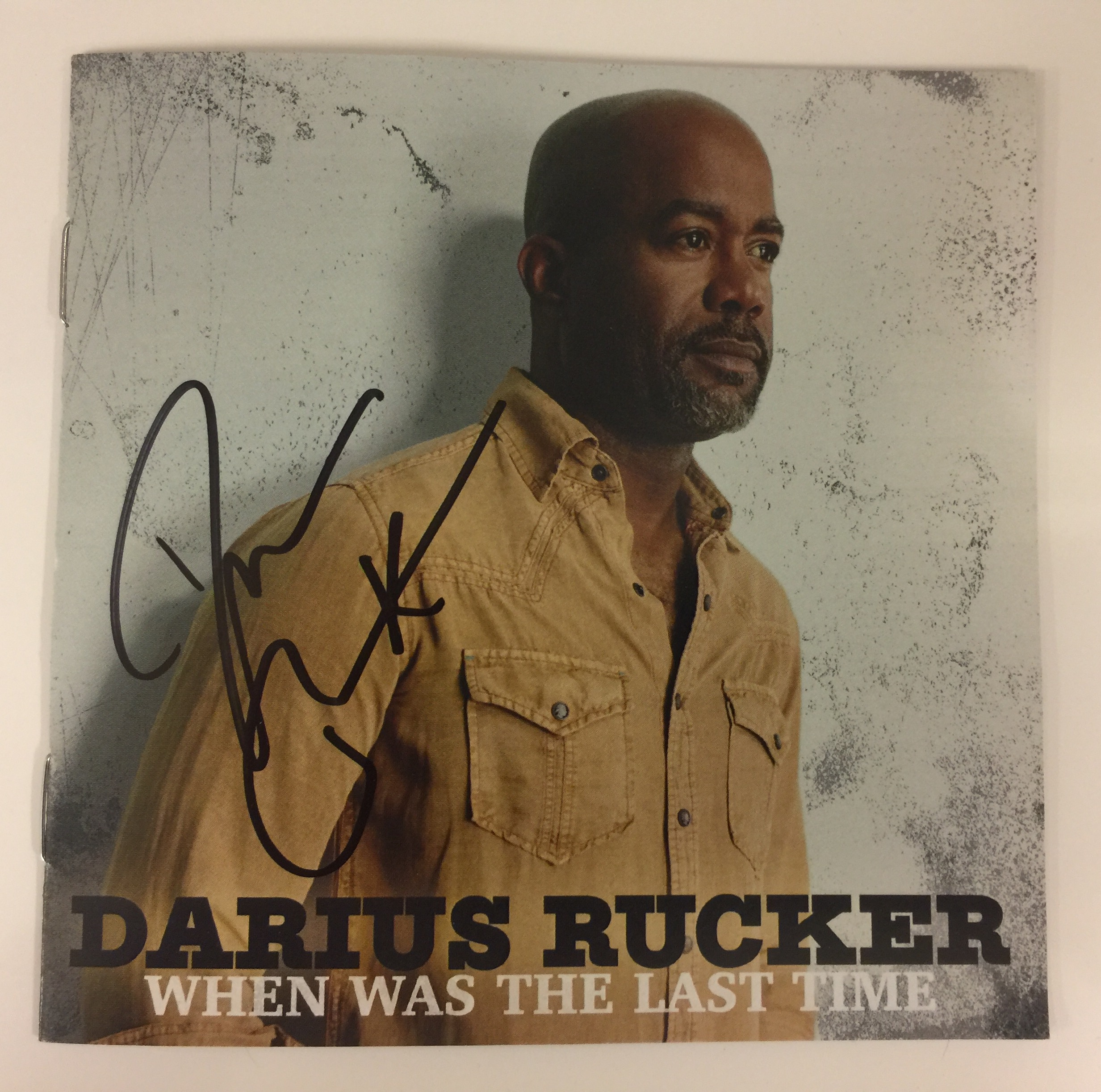 Darius Rucker 'When Was The Last Time' CD; Photo courtesy UMG Nashville