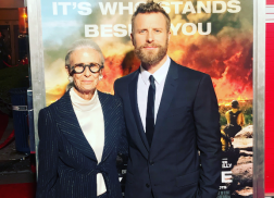 Dierks Bentley Brings His Mom to 'Only The Brave' Movie Premiere