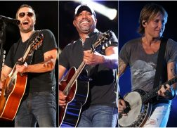 Eric Church, Darius Rucker, Keith Urban and Lady Antebellum to Open the CMA Awards