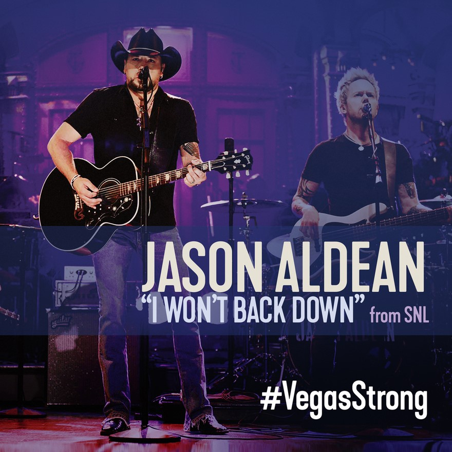Jason Aldean releases Tom Petty cover to support Vegas shooting victims