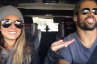 Jessie James Decker and Eric Decker Give Car Karaoke a Go