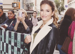 Get the Look: Jessie James Decker's Cozy Moto Jacket