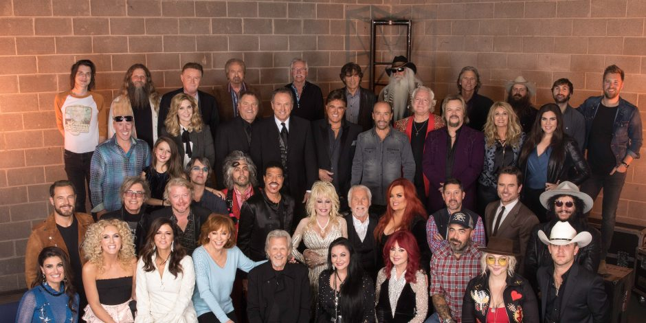 Music's Biggest Stars Go 'All in for The Gambler' at Kenny Rogers Farewell Celebration