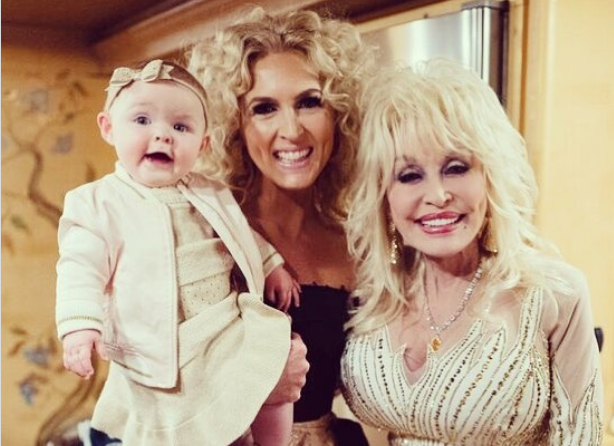 When Dolly Met Dolly—The Cutest Meeting Between Dolly Parton and Kimberly Schlapman's Daughter