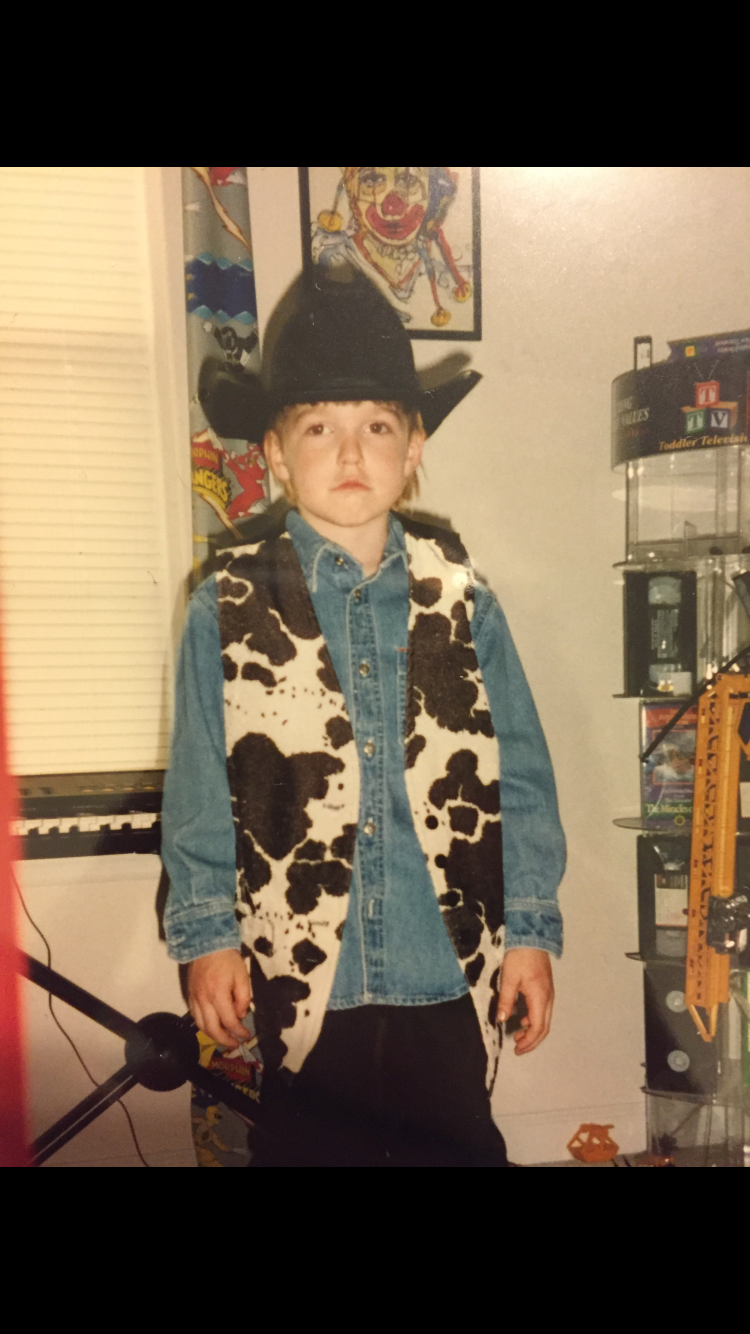 LANCO's Brandon Lancaster (age 6); Photo courtesy of the artist