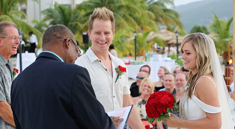 Parmalee's Barry Knox Says 'I Do'