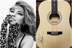 WIN a Guitar Autographed by Shania Twain