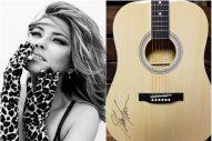 WIN a Guitar Autographed by Shania Twain