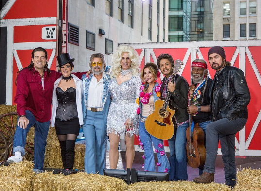 'Today Show' Cast Goes Country For Halloween