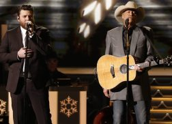 Alan Jackson and Chris Young Remember the Reason for the Season with 'There's A New Kid In Town'