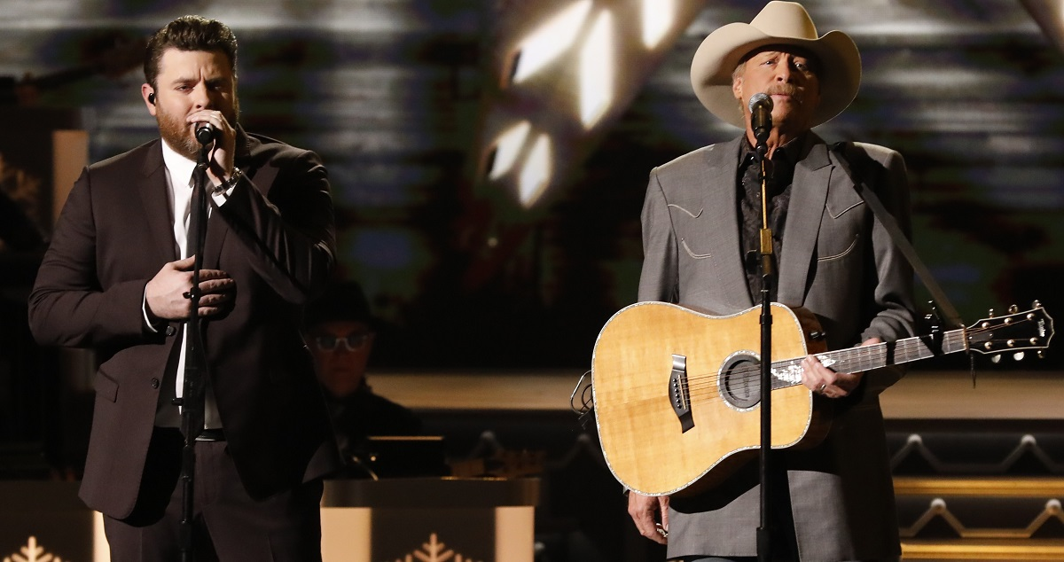 Alan Jackson and Chris Young Perform 'There's A New Kid In Town' Sounds Like Nashville