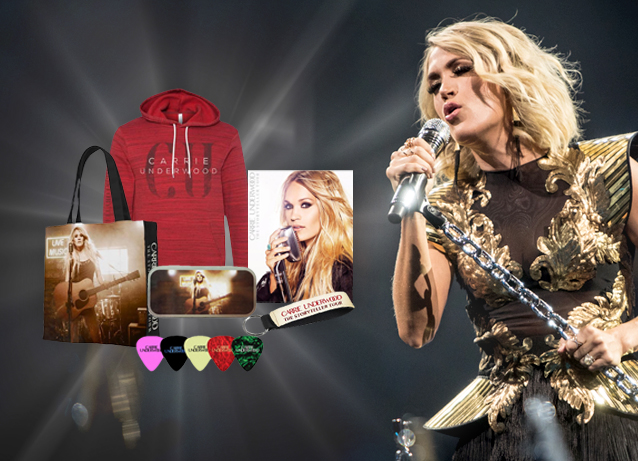 WIN a Carrie Underwood Storyteller Tour Merch Prize Pack