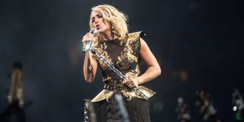 Carrie Underwood is Always Ready for Some Sunday Night Football