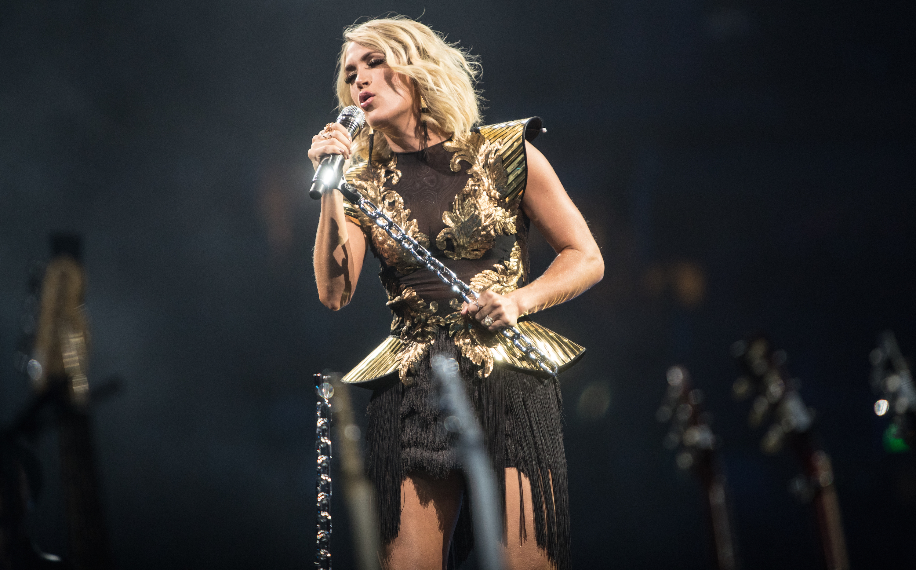 Listen to Carrie Underwood's empowering new single, 'Cry Pretty'