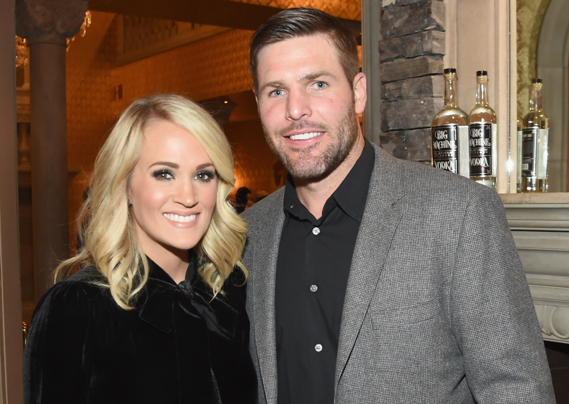 Carrie Underwood reveals husband Mike Fisher tracked her