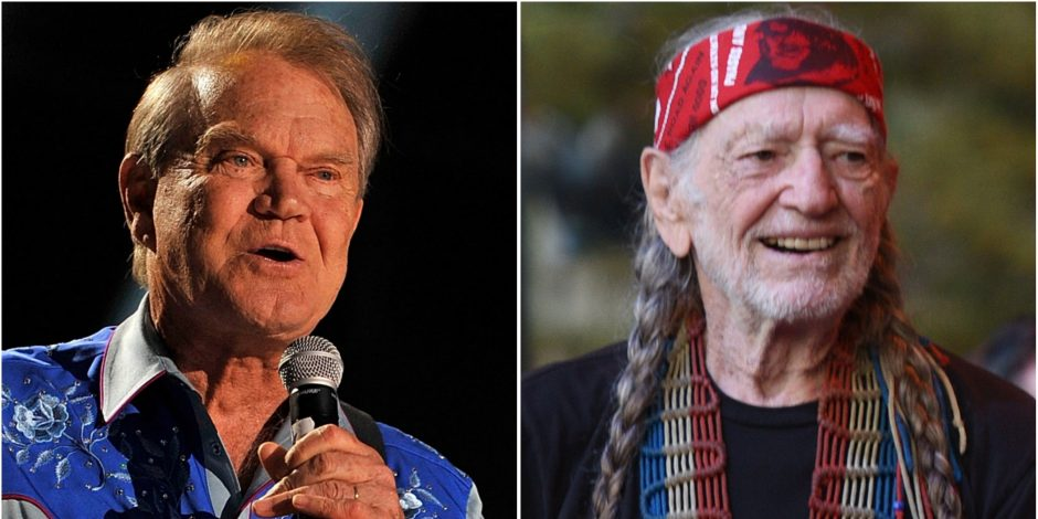 Glen Campbell and Willie Nelson's 'Funny How Time Slips Away' Named CMA Musical Event of the Year