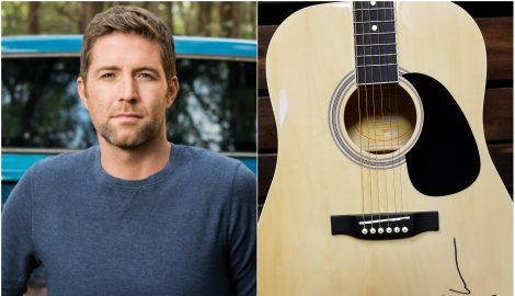 WIN a Guitar Autographed by Josh Turner