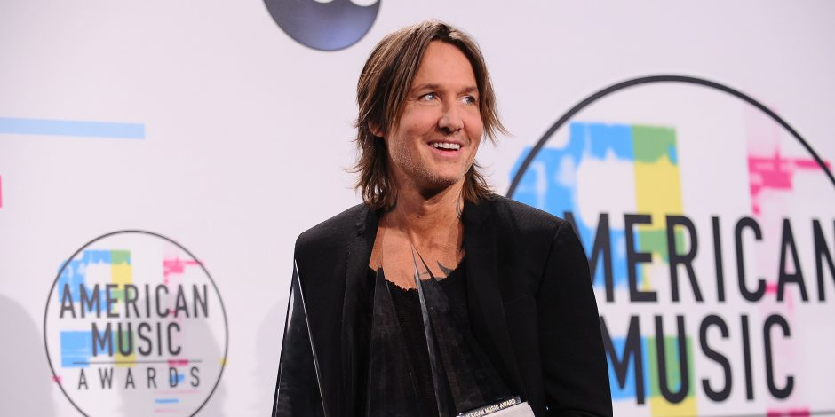 Keith Urban Thanks the Fans After Winning Three American Music Awards