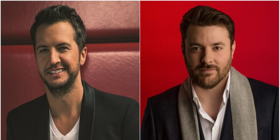 Chris Young Christmas.Luke Bryan Chris Young And Others Join Cma Country