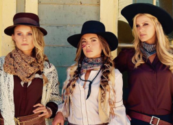 Runaway June Recreates a Western Romance in 'Wild West' Video