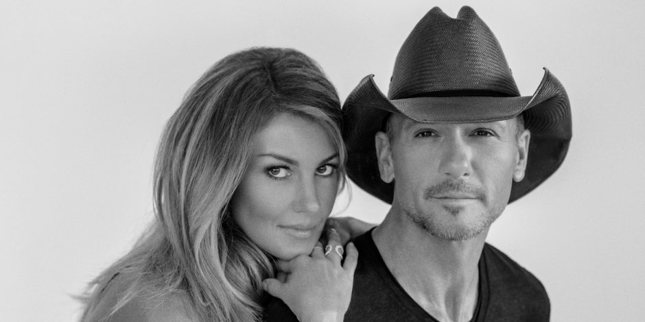 Tim McGraw and Faith Hill Choose Soul2Soul Opening Acts