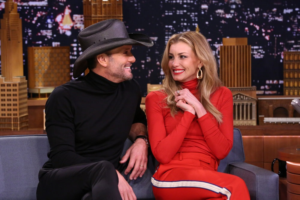 Tim McGraw Was 'Smitten' The Moment He First Met Faith Hill