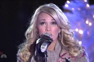 Remember When Carrie Underwood Performed at the Rockefeller Center Christmas Tree Lighting?