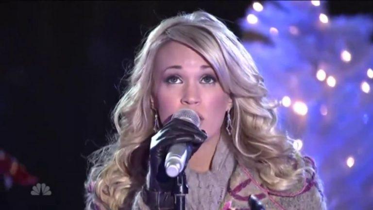 Remember When Carrie Underwood Performed at the Rockefeller Center Christmas Tree Lighting?