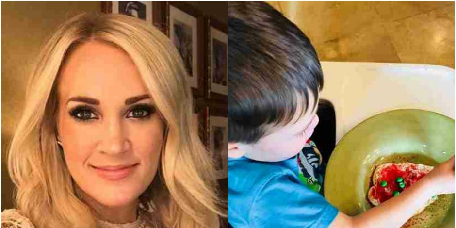 Carrie Underwood Starts New Christmas Tradition with Family