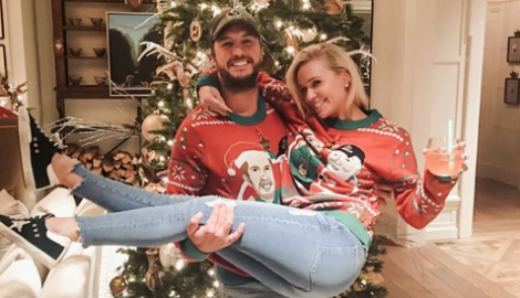 WIN a Luke Bryan 'That's My Kind Of Night' Tipsy Elves Christmas Sweater