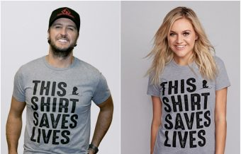 Country Stars Support St. Jude's 'This Shirt Saves Lives' Campaign