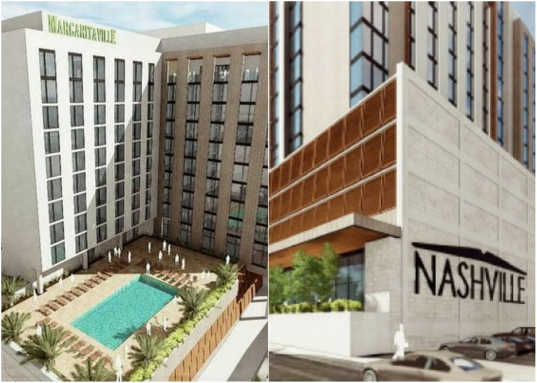Margaritaville Hotel to Open in Downtown Nashville in Summer 2019