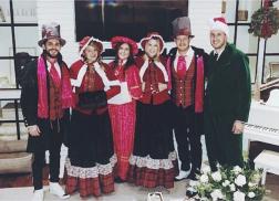 Thomas Rhett, Tyler Hubbard and Co. Go Caroling Around Nashville