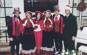 Thomas Rhett and Co. Go Caroling in Nashville